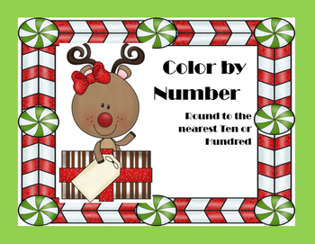 Rounding Numbers Color by number