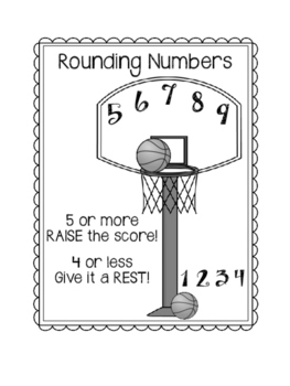 Rounding Numbers Foldable. Nearest 10, 100, 1000  Math Interactive Notebook