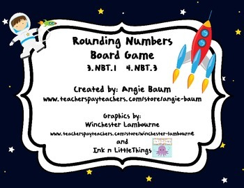 Rounding Numbers Game with Game Board Differentiated