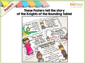 Rounding to the Nearest Tens and Hundreds: Knights of the Rounding Table