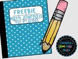 FREEBIE NO Prep Printable Math Journals