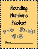 Rounding Numbers Packet (10s and 100s)