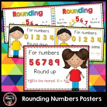 Rounding Numbers Posters