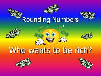 Rounding Numbers Power Point Game ONLY (no lesson)