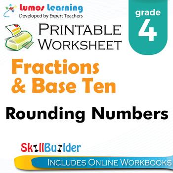 Rounding numbers printable worksheet grade 4 by lumos learning tpt rounding numbers printable worksheet grade 4 ibookread Download