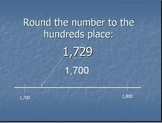 Rounding Numbers Review PowerPoint