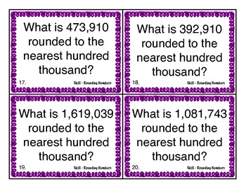 Rounding Numbers Scoot