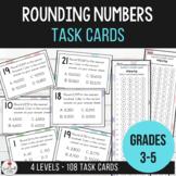 Rounding Numbers - Task Card Activities