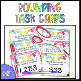 {3.NBT.1} Rounding Numbers Task Cards