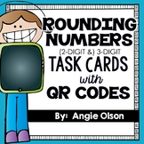 Rounding Numbers Task Cards (included in Math Task Card Bundle)
