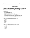Rounding Numbers Test