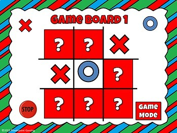 Rounding Numbers Tic-Tac-Toe Powerpoint Game