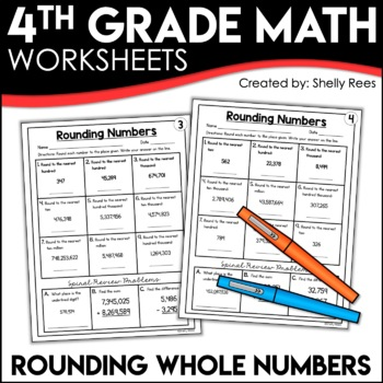 Rounding Numbers Worksheets