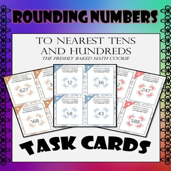 Rounding Numbers - Task Cards