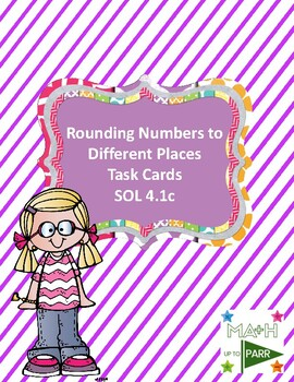 Rounding Numbers to Different Places Task Cards