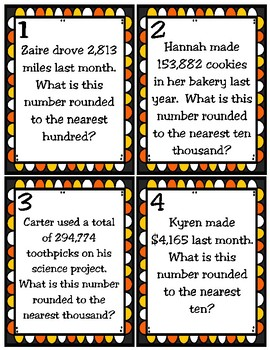 Rounding Numbers to a Given Place (TEKS 4.2D) STAAR Practice