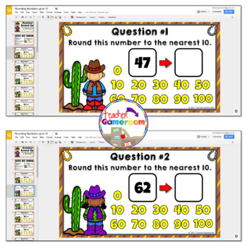 Rounding Numbers to the Nearest 10 Activity