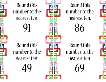 Rounding Numbers to the Nearest Ten (up to 99)