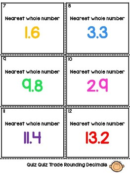 Decimal Numbers Rounding Ordering and Comparing Cooperative Learning 3-in-1