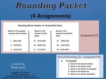 Rounding Packet