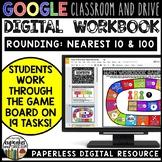 Rounding Paperless Math Workbook