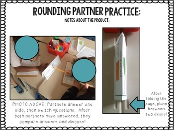 Rounding Partner Practice {CCSS 3.NBT.A.1}