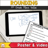 Rounding Place Value (Video, Notebook Entry, and Poster)