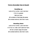 Rounding Poem