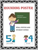 Rounding Poster and Student Copies