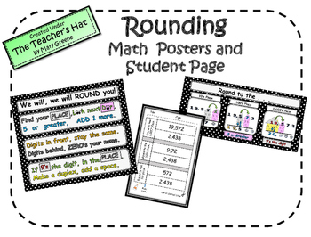 Rounding Posters & Student Page