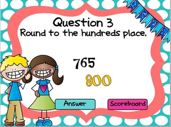 Rounding PowerPoint Game