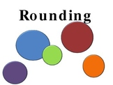 Rounding PowerPoint Presentation 3rd 4th grade