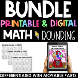 Rounding Practice Printable and Digital - Interactive Goog