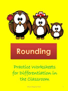 Rounding Practice Worksheets
