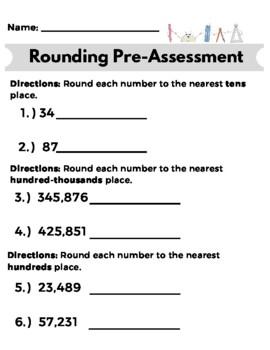 Rounding Pre-Assessment