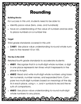 Freebie!  Rounding - Pre and Post Test