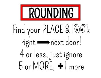 Rounding Printable Poster