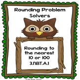 Rounding Worksheets 3rd Grade Round Number Round to nearest 10 & 100 Worksheets