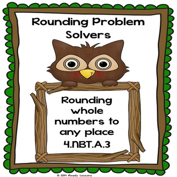 4th Grade Rounding Worksheets for Rounding Large Numbers to any Place 4.NBT.3