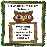 4th Grade Rounding Worksheets Round Large Numbers to any Place 4.NBT.3