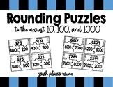 Rounding Puzzles - Nearest 10, 100, 1000