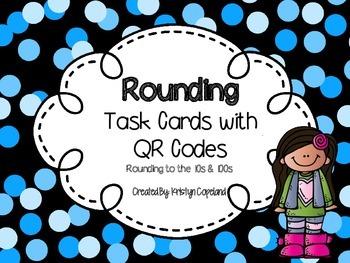 Rounding QR Code Task Cards