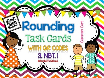 Rounding QR Codes Task Cards