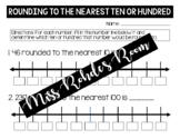 Rounding Quiz (10s and 100s)