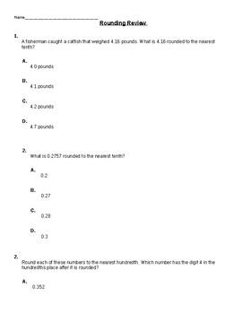 Rounding Quiz (5NBTA4)