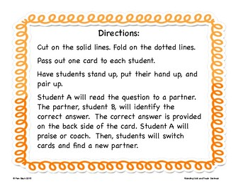 Rounding Game - Quiz and Trade - Decimals {Differentiated}