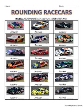 Rounding Racecars