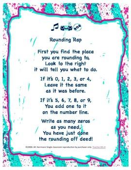 Rounding Rap Poster ~ Steps for Rounding