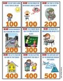 Rounding Rescue - Estimation Card Game - Tens & Hundreds