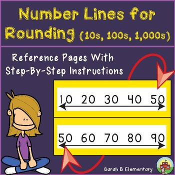 Rounding to the Nearest 10, 100, and 1,000 (Using a Number Line)